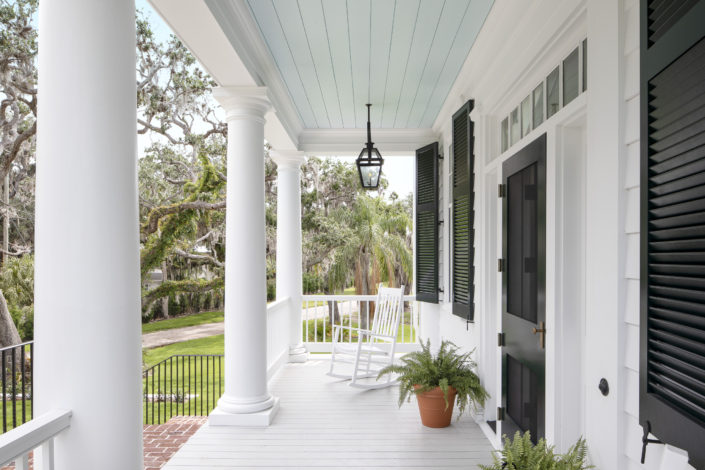 Traditional Southern Front Porch