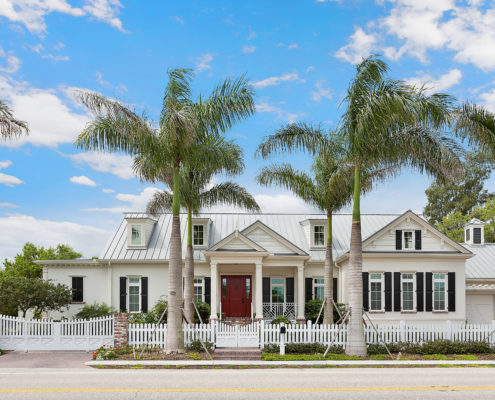 Siesta Key Home Low Country Style New Construction Nautilus Homes