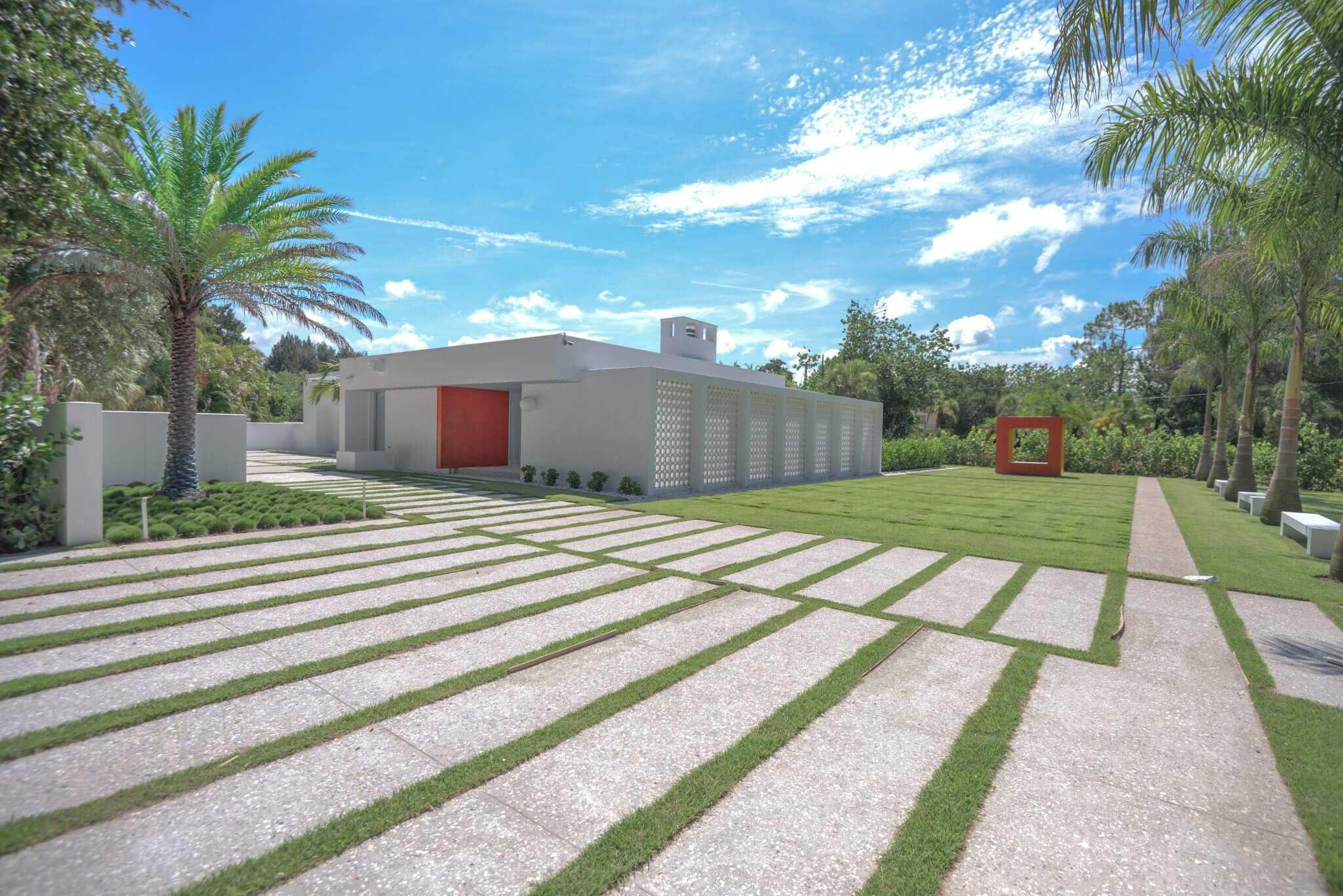 Sarasota School Of Architecture Ness House Nautilus Homes
