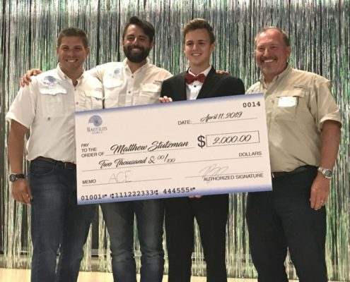 Nautilus Homes Team Presents Scholarship to Venice High School Student ACE Program