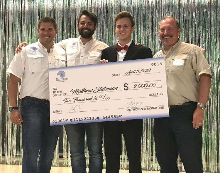 Nautilus Homes Team Presents Scholarship to Venice High School Student ACE Program