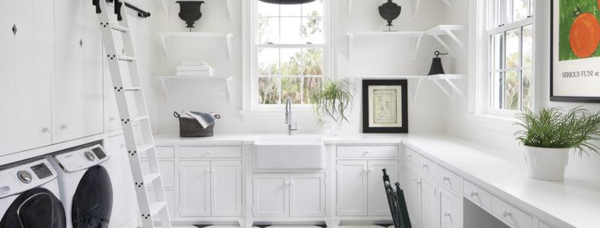 Antebellum Estate Charleston Style Laundry Room