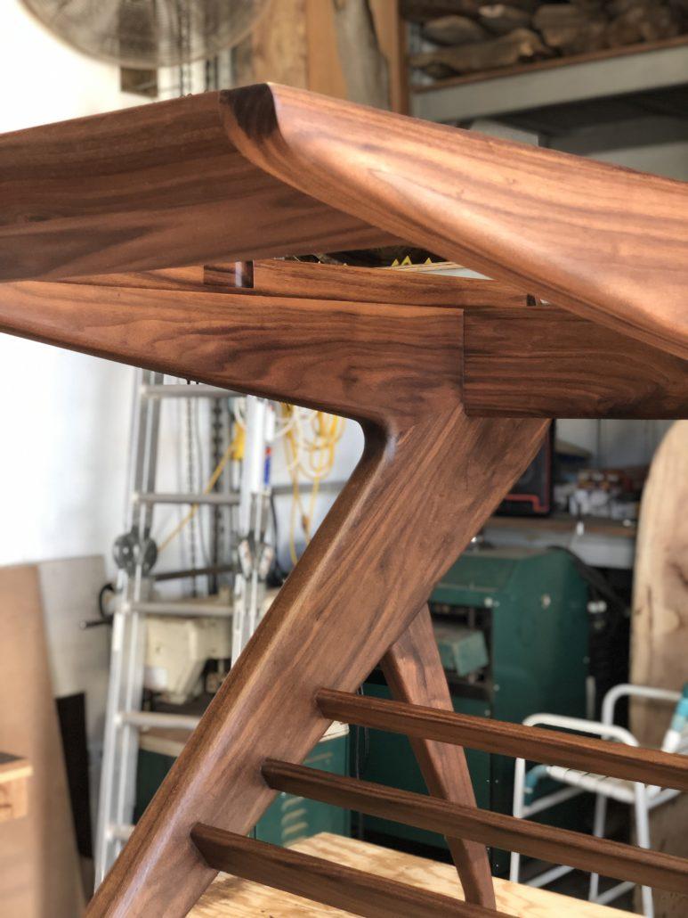 Ryan Trembley Wood Art Sarasota Nautilus Homes Drafting Table