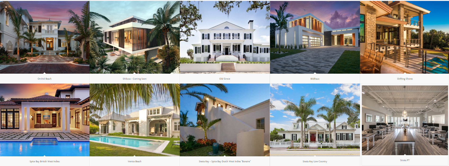 Nautilus Homes Portfolio