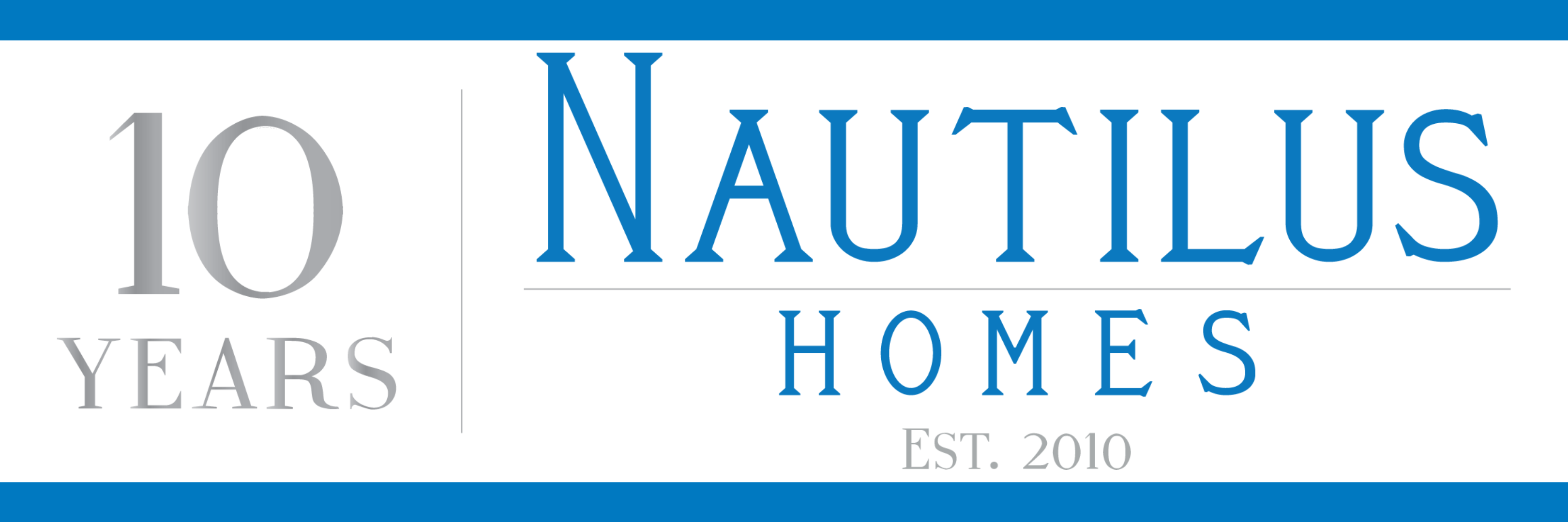 Nautilus Homes 10 Years