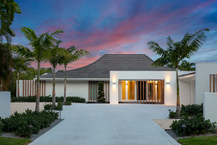 Courtyard House Bird Key Sarasota School of Architecture Sarasota Luxury Home Builder