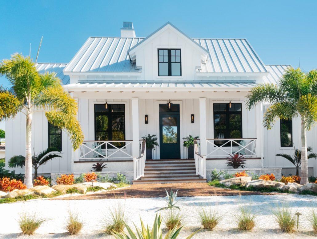 Modern Farmhouse Lido Shores Lido Key Florida Home Builder General Contractor